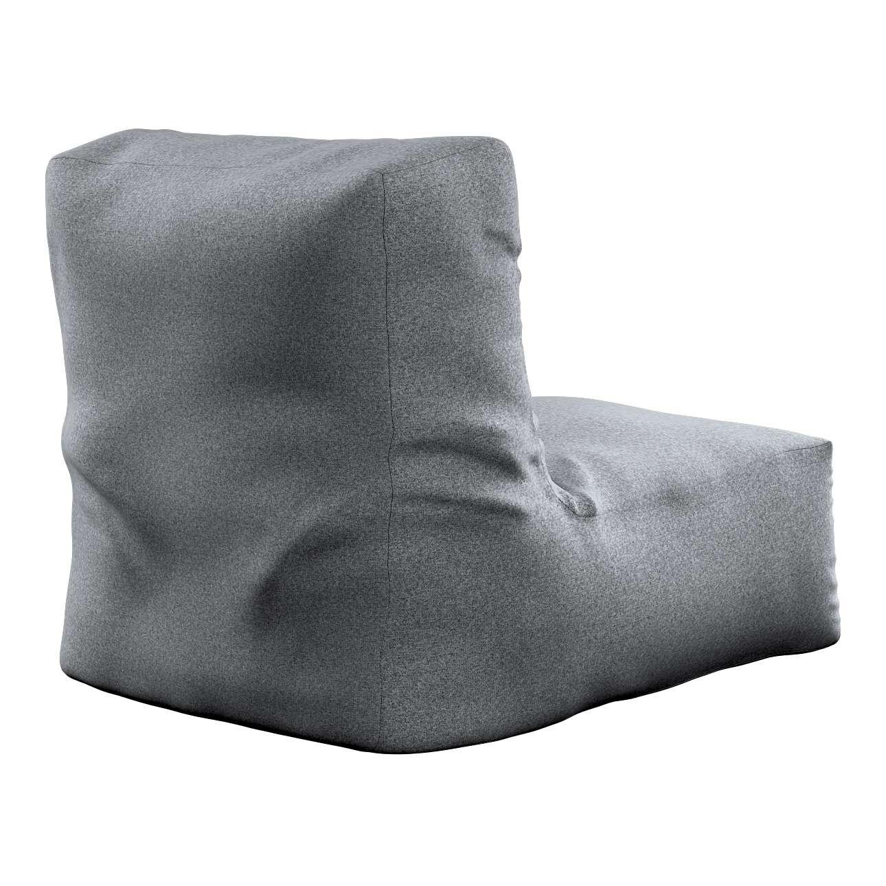 Pufa- fotel w kolekcji Amsterdam, tkanina: 704-47