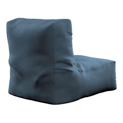 Sedací vak v tvare kresla - jednofarebný 705-30 modrá Kolekcia Etna