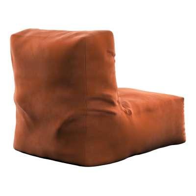 Sėdmaišis- fotelis  704-33 ruda-plytų spalva Kolekcija Velvetas/Aksomas