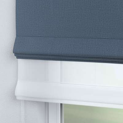 Voile & fabric roman blind DUO 269-67 dark blue Collection Blackout