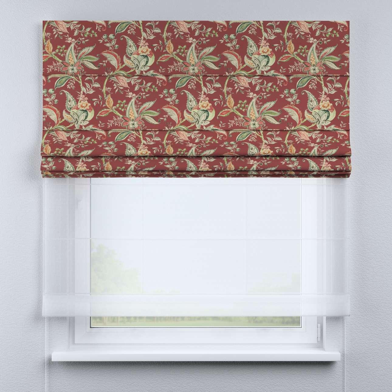 Roleta rzymska Duo 130×170cm w kolekcji Gardenia, tkanina: 142-12