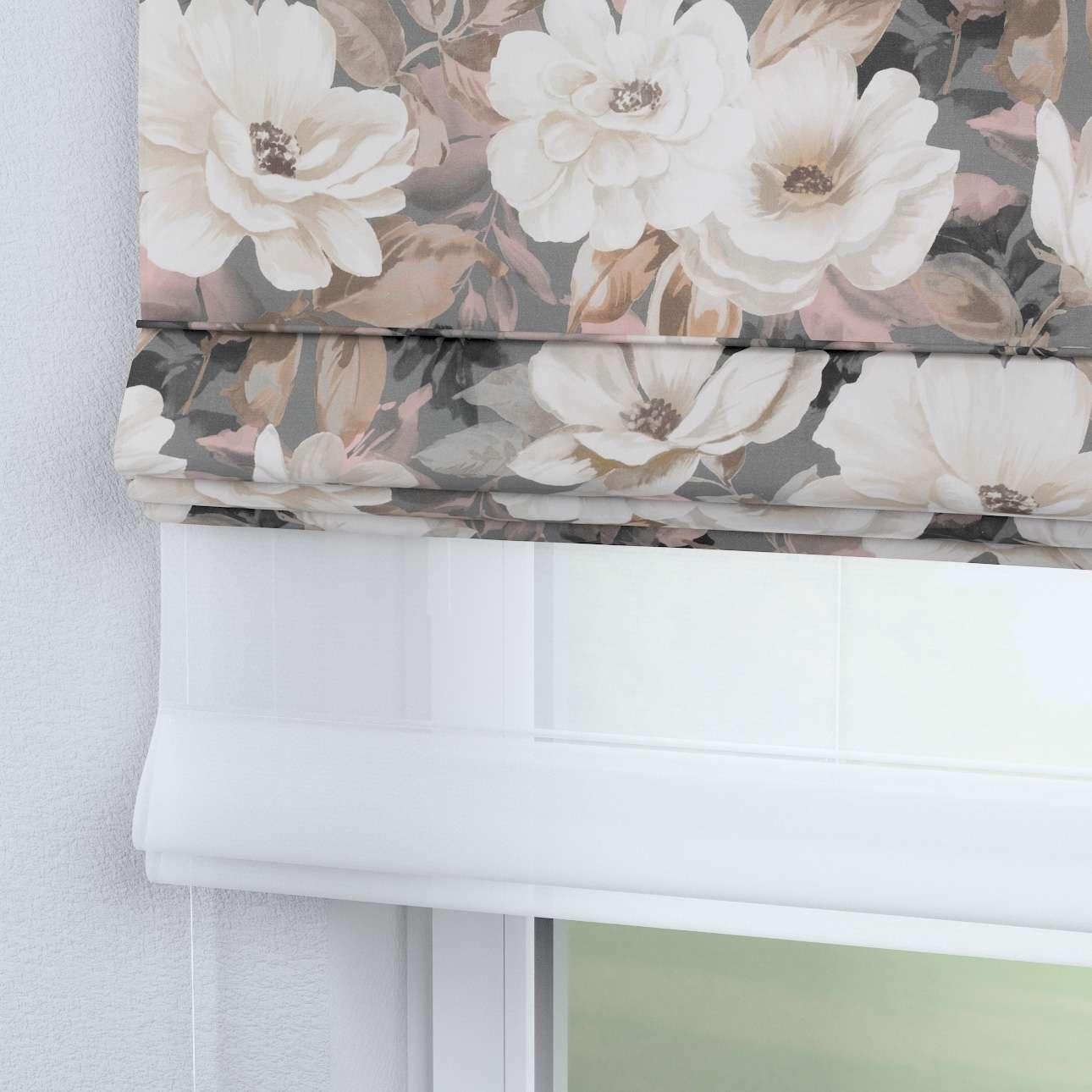 Roleta rzymska Duo 130×170cm w kolekcji Gardenia, tkanina: 142-13