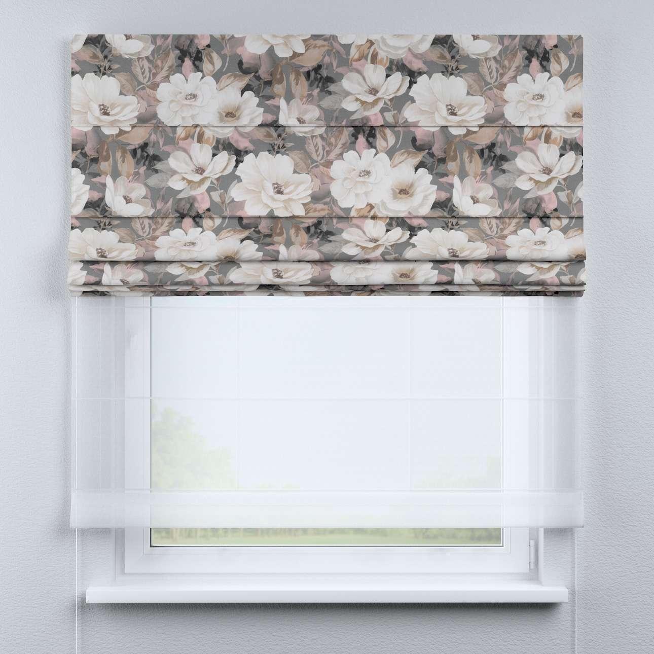 Roleta rzymska Duo w kolekcji Gardenia, tkanina: 142-13