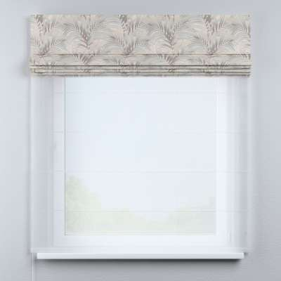Roleta rzymska Duo 130×170cm w kolekcji Gardenia, tkanina: 142-14