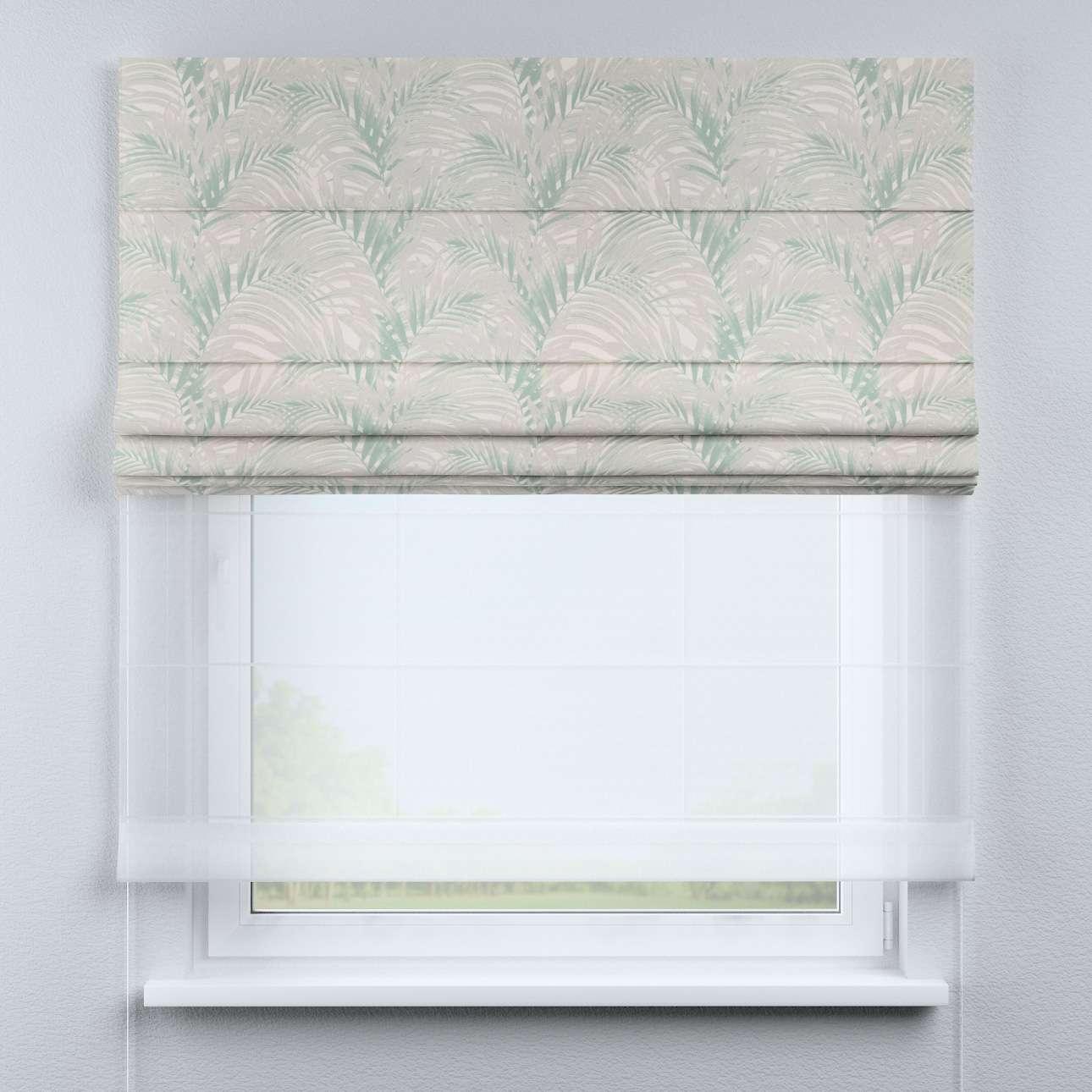 Roleta rzymska Duo w kolekcji Gardenia, tkanina: 142-15