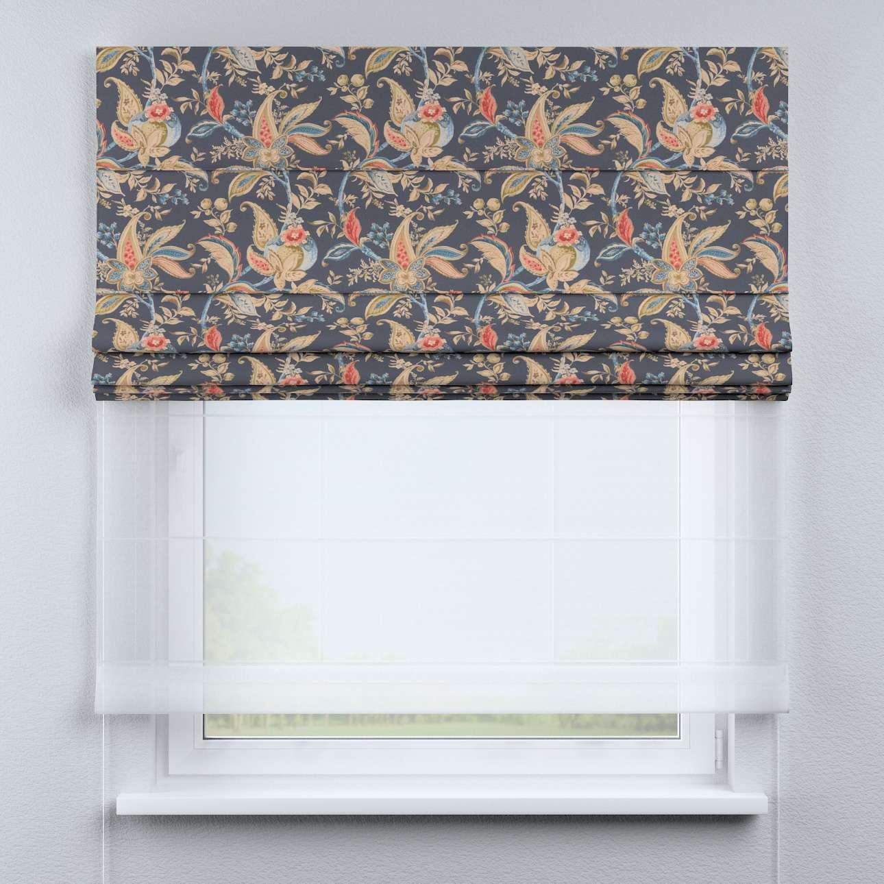 Roleta rzymska Duo 130×170cm w kolekcji Gardenia, tkanina: 142-19