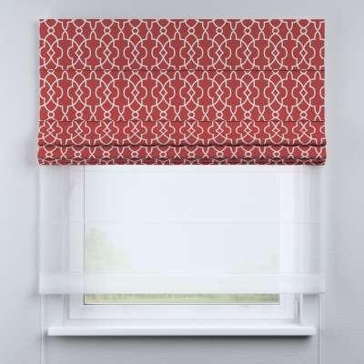 Roleta rzymska Duo 130×170cm w kolekcji Gardenia, tkanina: 142-21