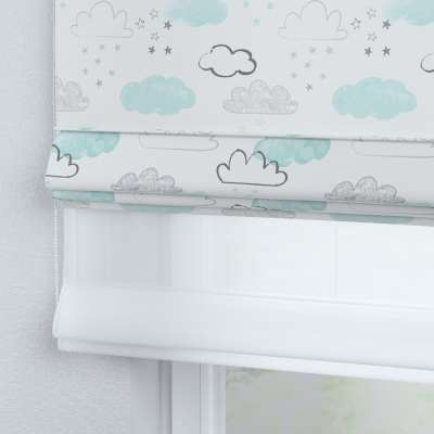 Voile and fabric roman blind (DUO II) 500-14  Collection Magic Collection
