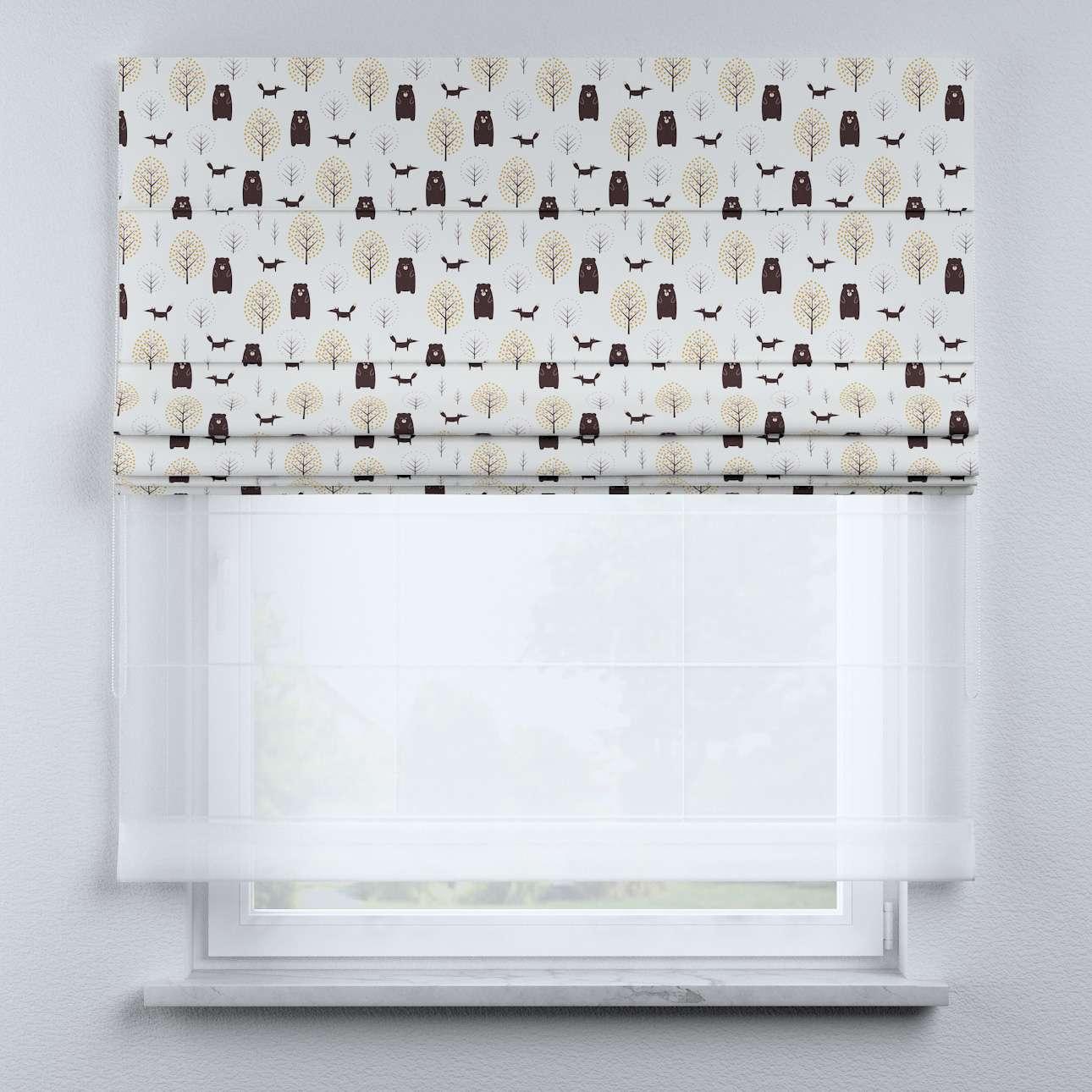 Raffrollo Duo 130×170cm von der Kollektion Magic Collection, Stoff: 500-19