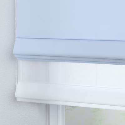 Voile and fabric roman blind (DUO II) 133-35 baby blue Collection Happiness