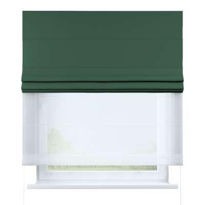 Římská roleta Duo 269-18 lahvově zelená Kolekce Blackout