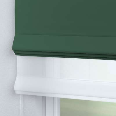 Voile & fabric roman blind DUO 269-18 bottle green Collection Blackout