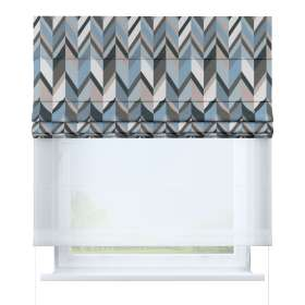 Voile and fabric roman blind (DUO II)