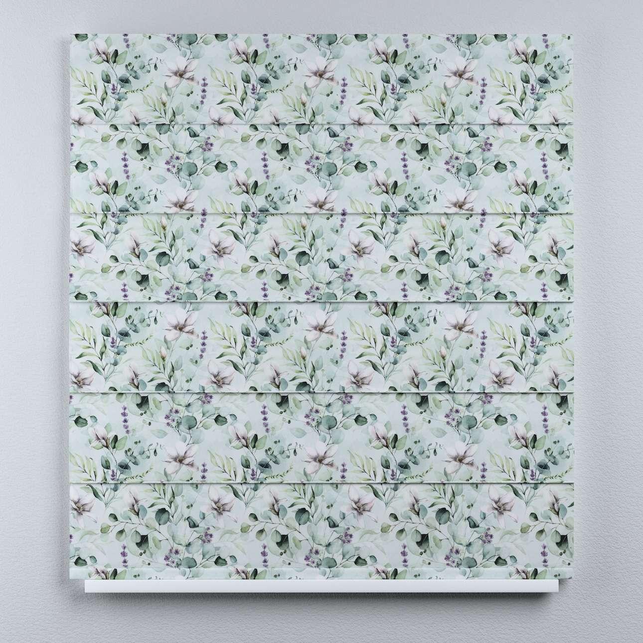 Duo med ensfarvet voile fra kolleksjonen Flowers, Stoffets bredde: 143-66