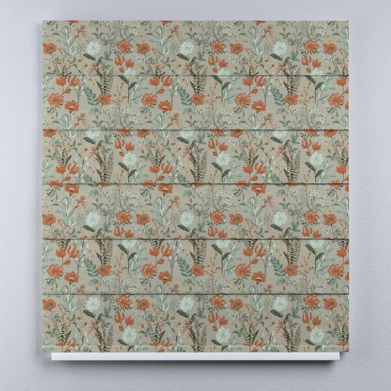 Roleta rzymska Duo w kolekcji Flowers, tkanina: 143-70