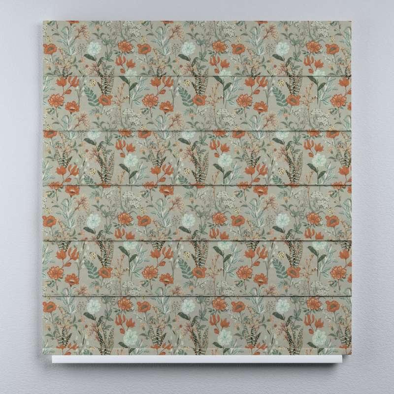 Duo med ensfarvet voile fra kolleksjonen Flowers, Stoffets bredde: 143-70