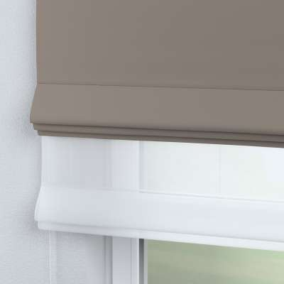 Voile & fabric roman blind DUO 269-81 light brown Collection Blackout