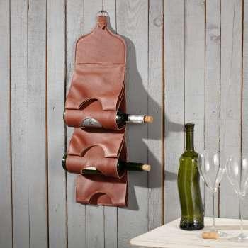 Wieszak na wino Biagio brown
