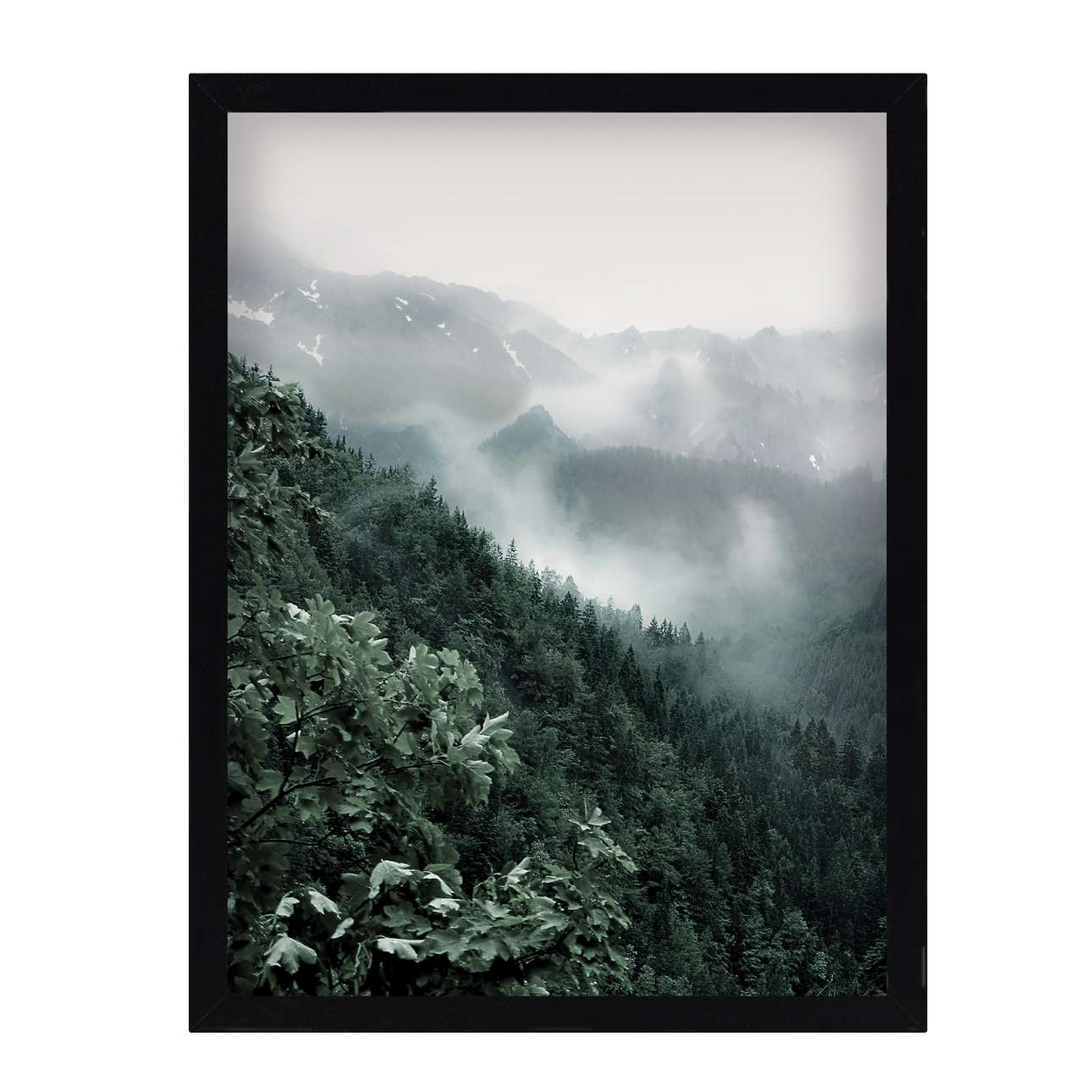 Wandbild Green Hills I 30x40cm, 30 × 40 cm | Dekoration > Bilder und Rahmen | Green - Grün | Mdf | Dekoria