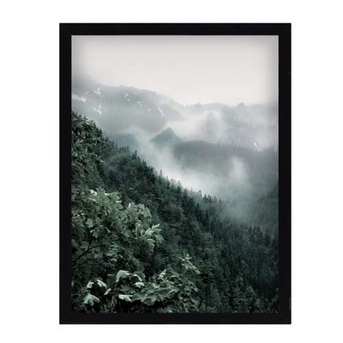Framed print Green Hills I 30x40cm