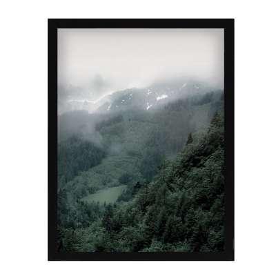Billede med ramme Green Hills II 30x40cm