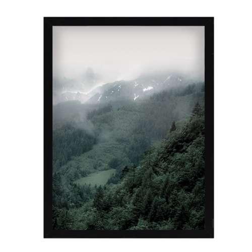 Poster in lijst Green Hills II 30x40cm