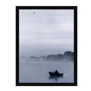 Poster in lijst Foggy Lake I 30x40cm