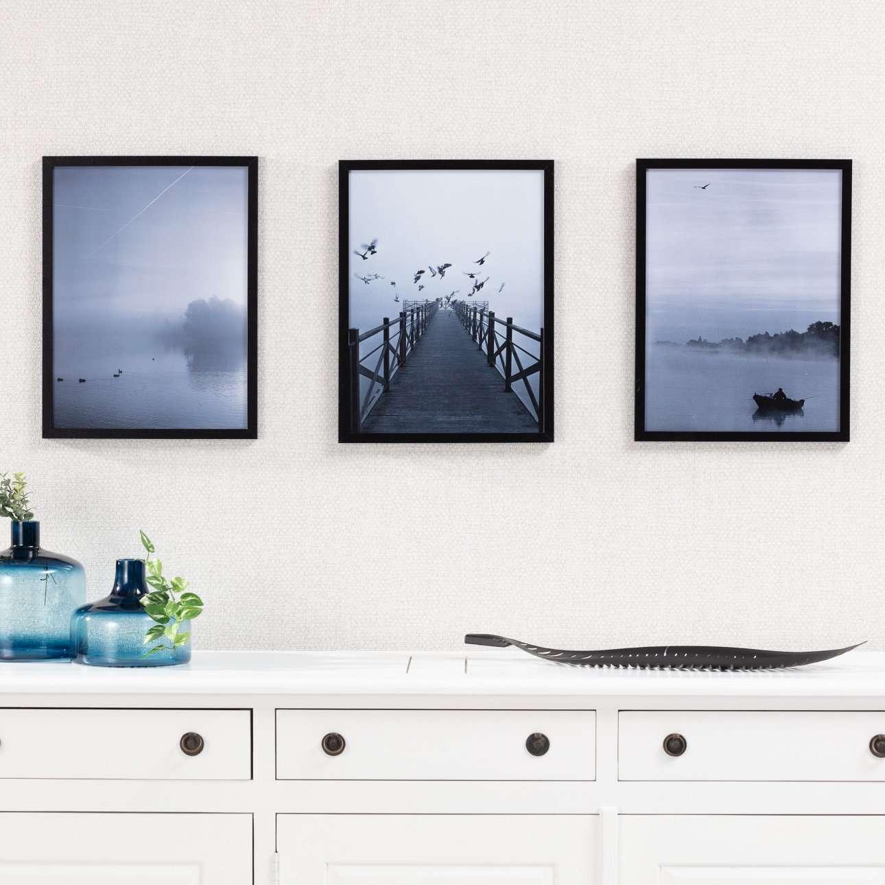 Poster in lijst Foggy Lake II 30x40cm