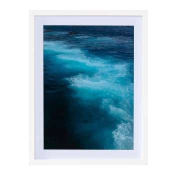 Wandbild Blue Water I 30x40cm