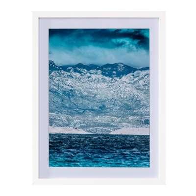 Wandbild Blue Water II 30x40cm