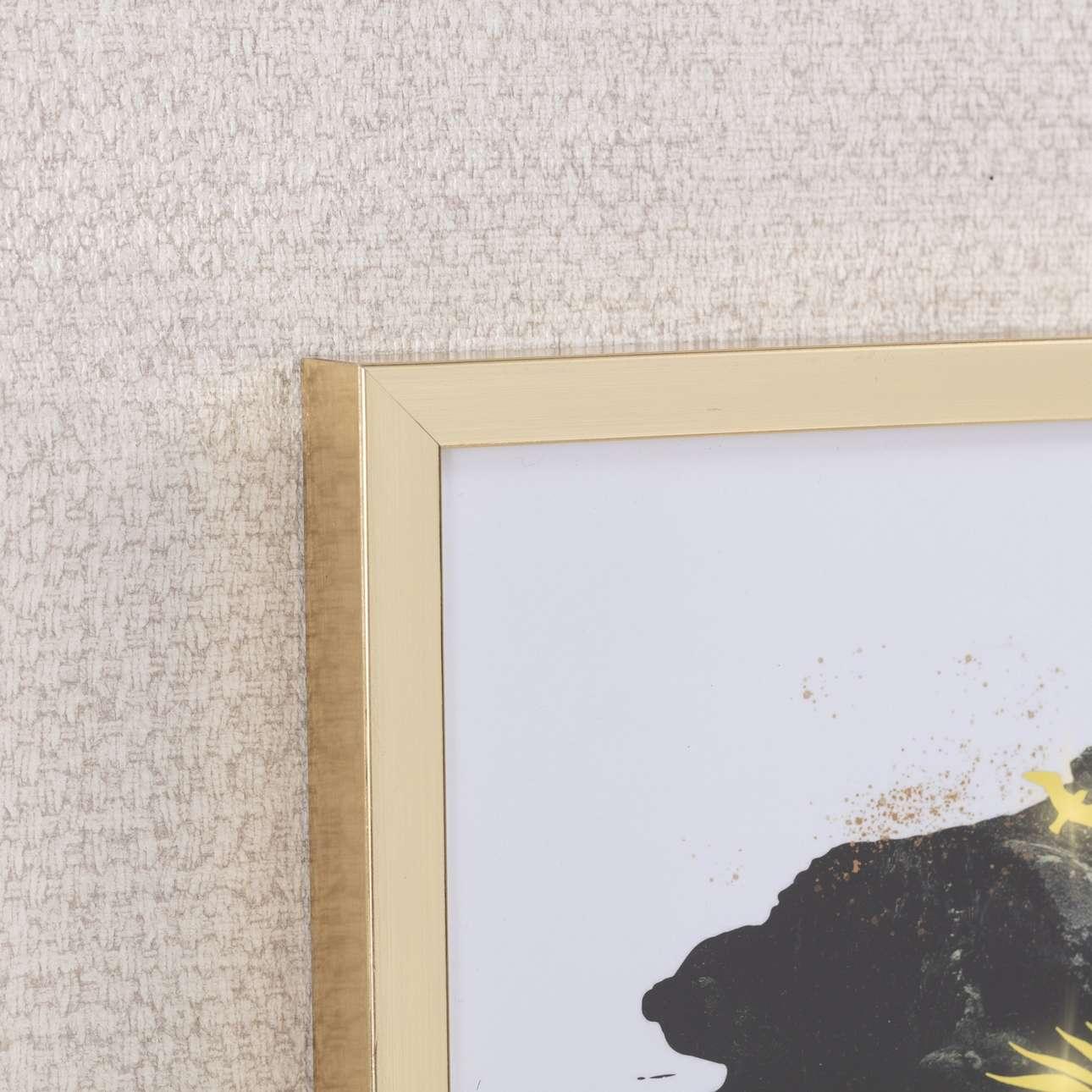 Obraz Woman 30x40cm gold