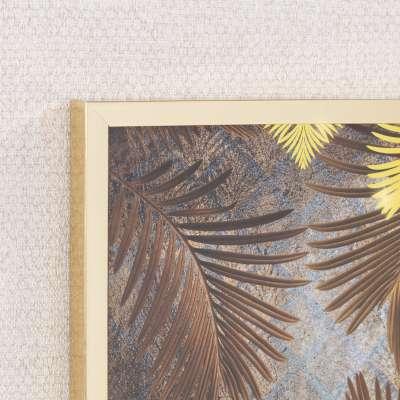 Obraz Golden Leaves 30x40cm gold
