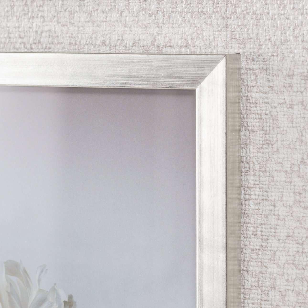 Obraz Peony III 18x24cm silver