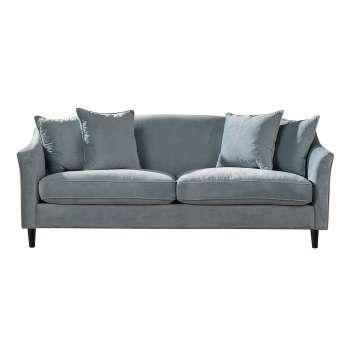Sofa Velvet Cloud blue 3-os.