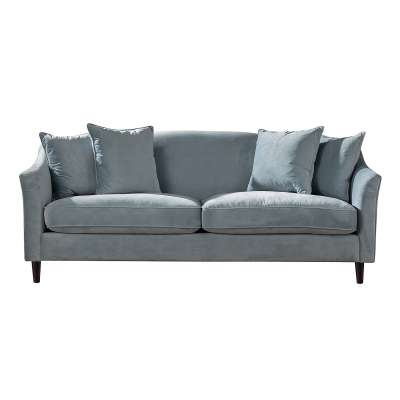 Sofa Velvet Cloud blue 3-os.