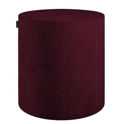 Pouf Barrel von der Kollektion Chenille, Stoff: 702-19