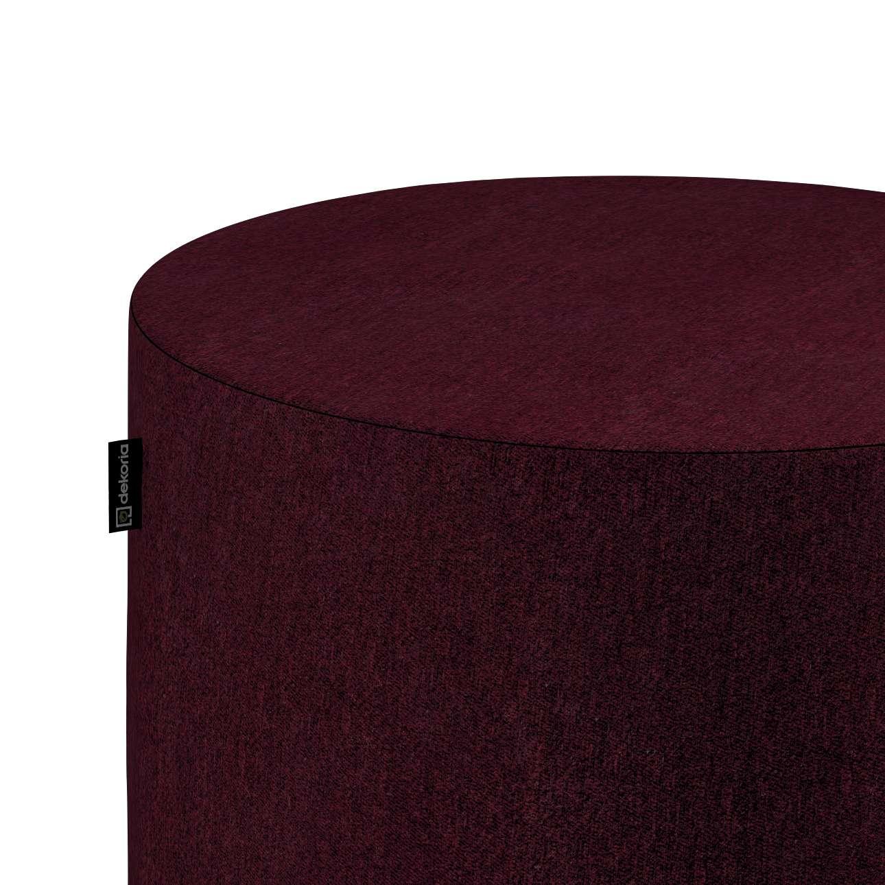 Puf Barrel w kolekcji Chenille, tkanina: 702-19