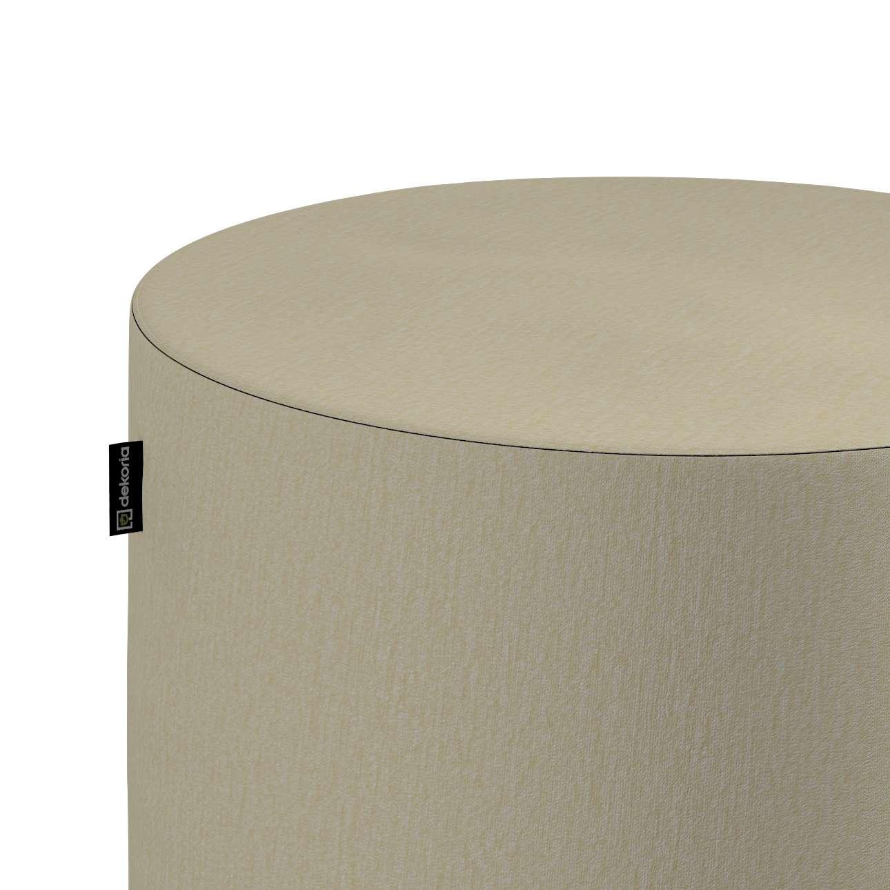 Puf Barrel w kolekcji Chenille, tkanina: 702-22