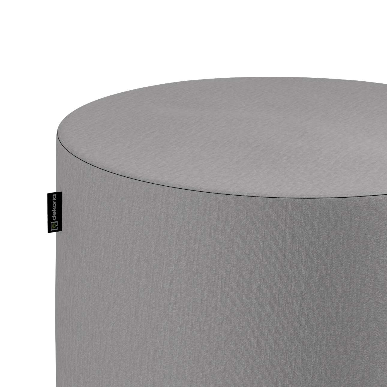 Puf Barrel w kolekcji Chenille, tkanina: 702-23