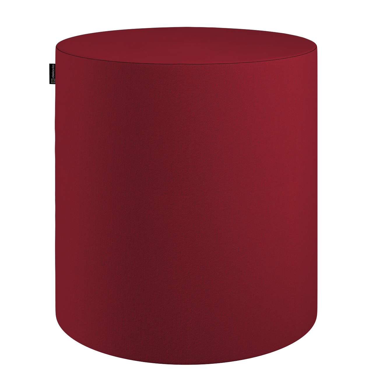 Pouf Barrel von der Kollektion Chenille, Stoff: 702-24