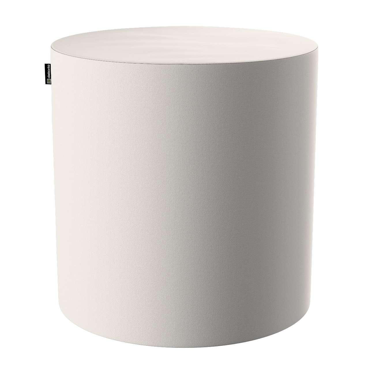 Puf Barrel w kolekcji Etna, tkanina: 705-01