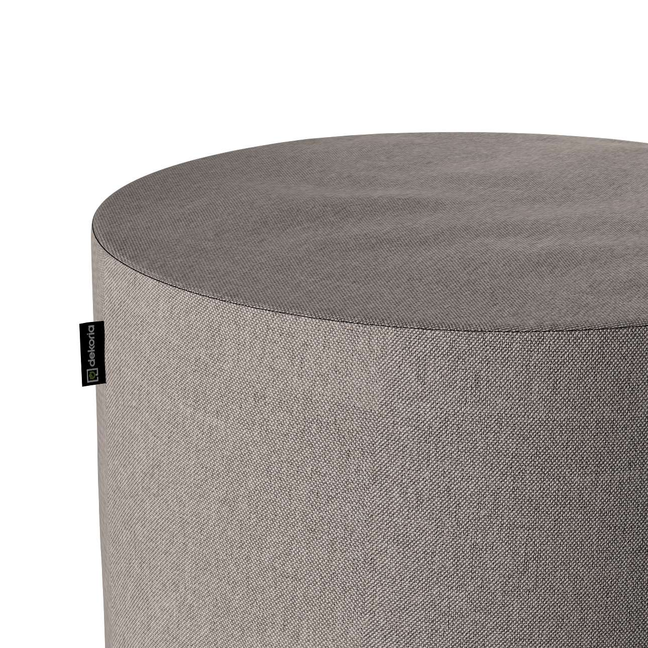 Pouf Barrel von der Kollektion Etna, Stoff: 705-09