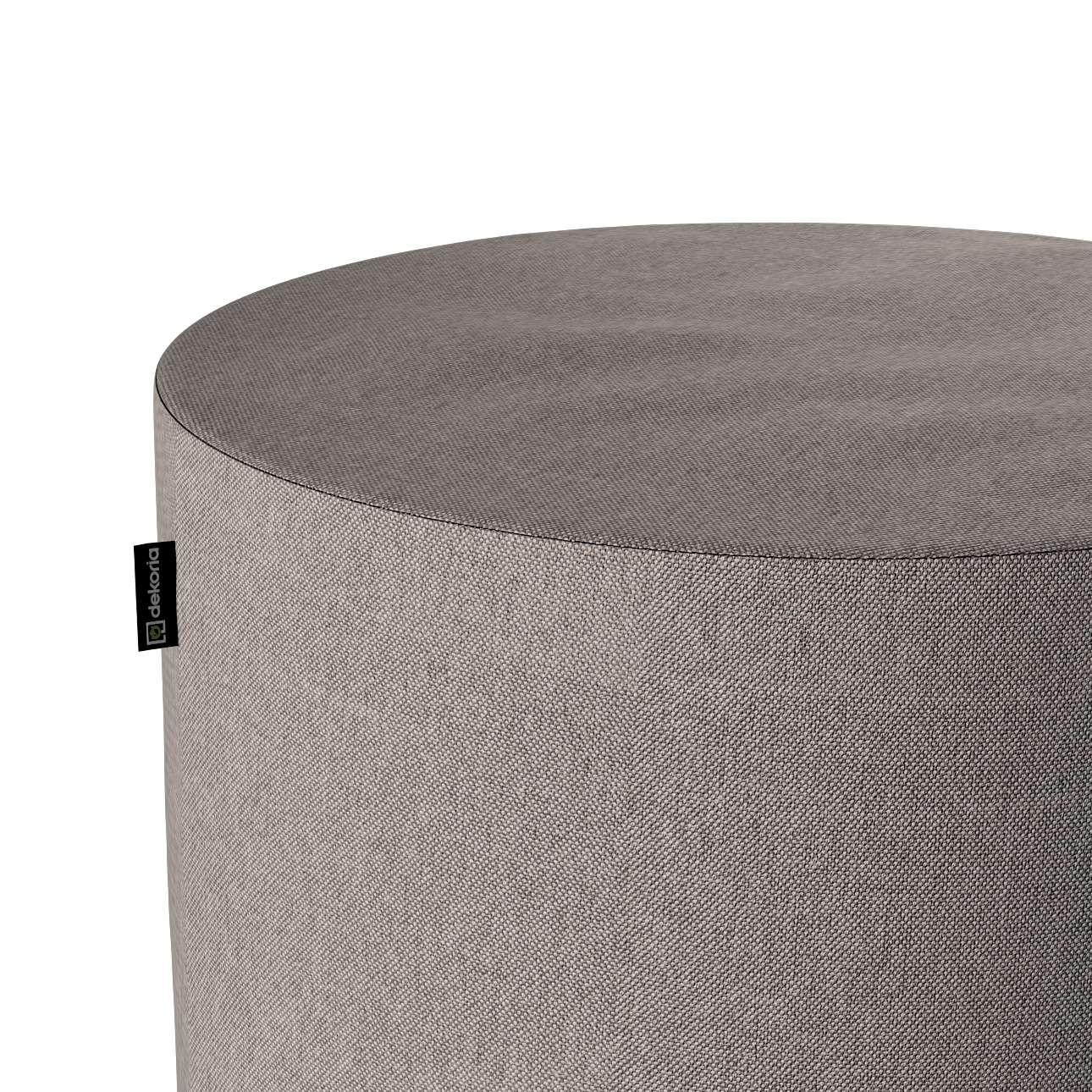 Puf Barrel w kolekcji Etna, tkanina: 705-09