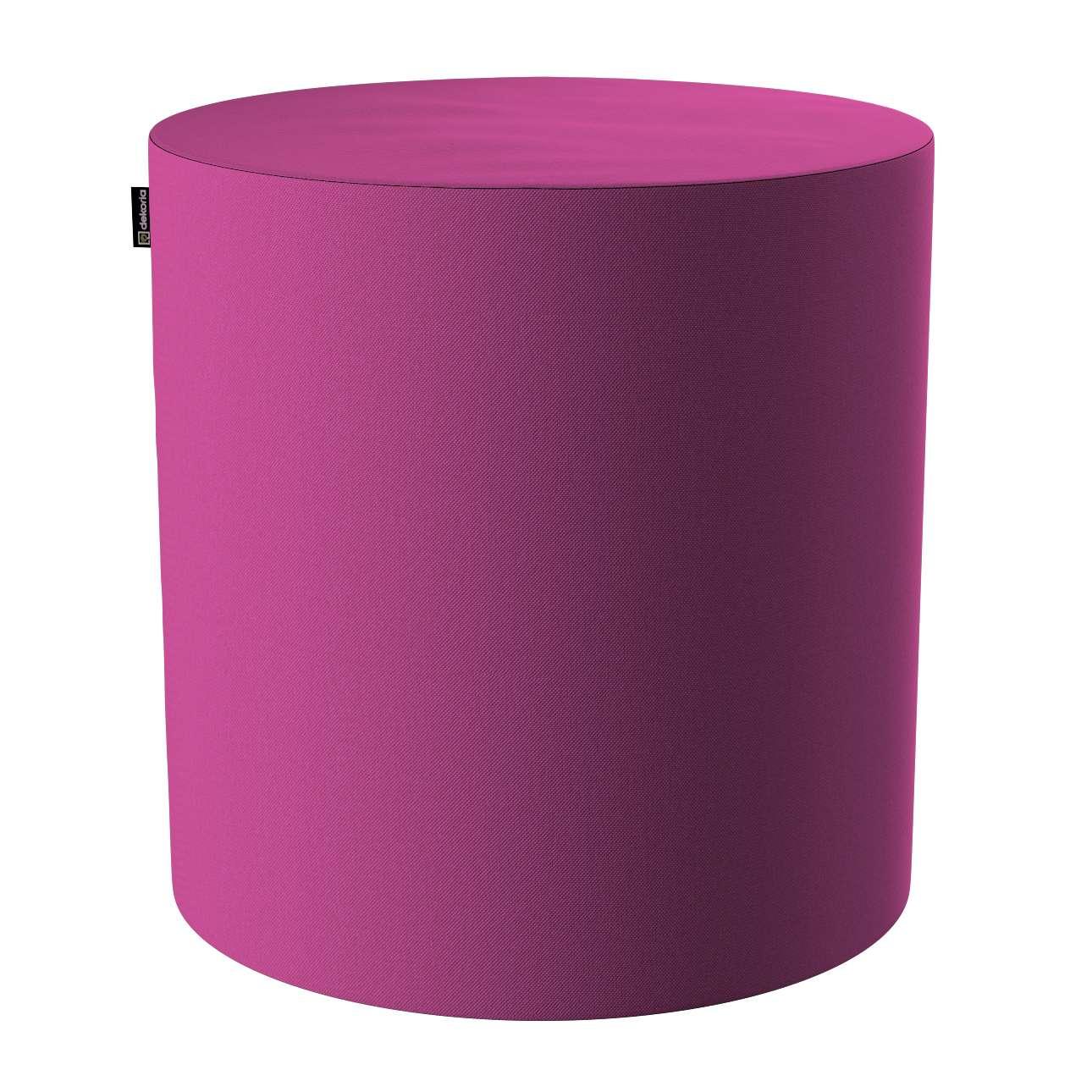 Pouf Barrel von der Kollektion Etna, Stoff: 705-23
