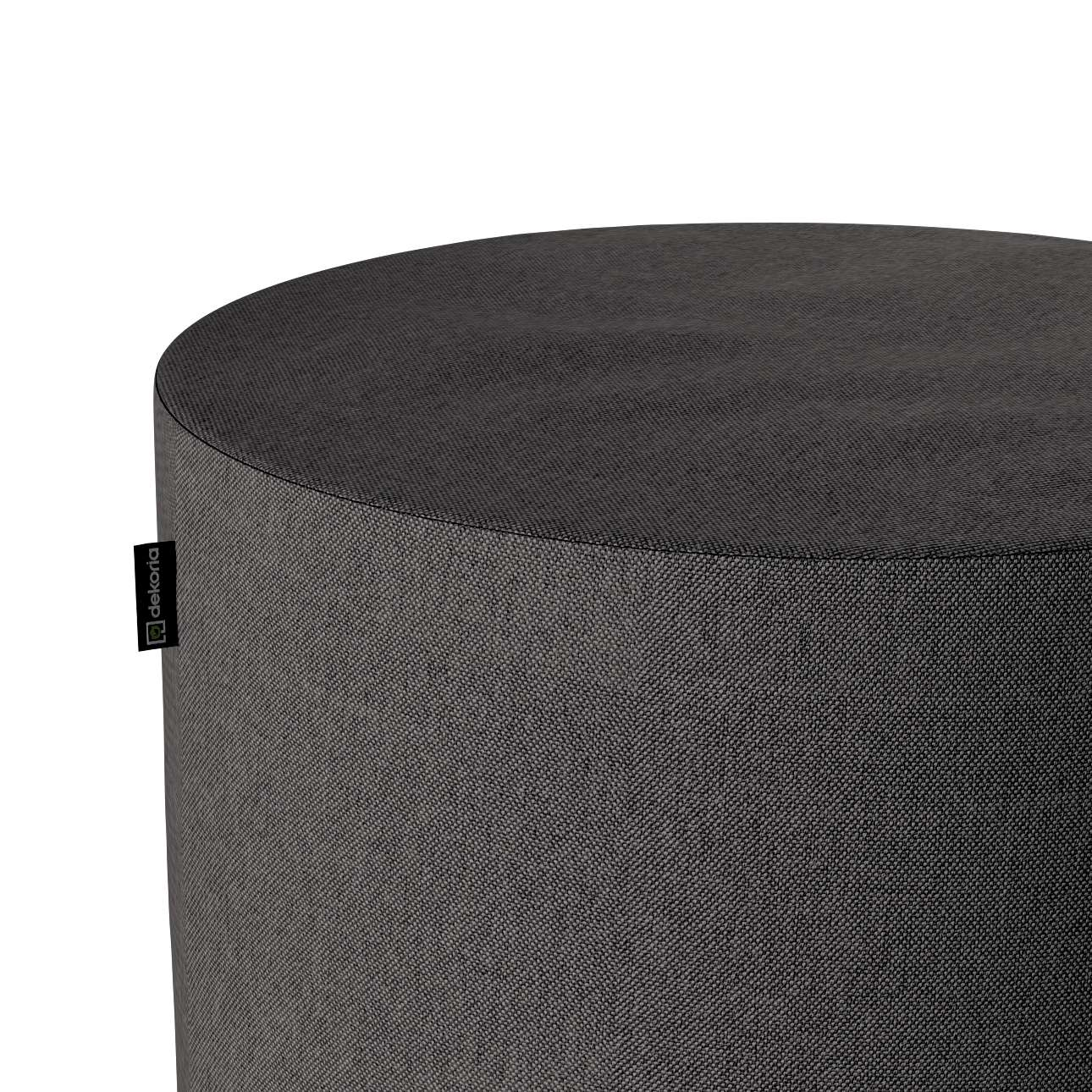 Pouf Barrel von der Kollektion Etna, Stoff: 705-35