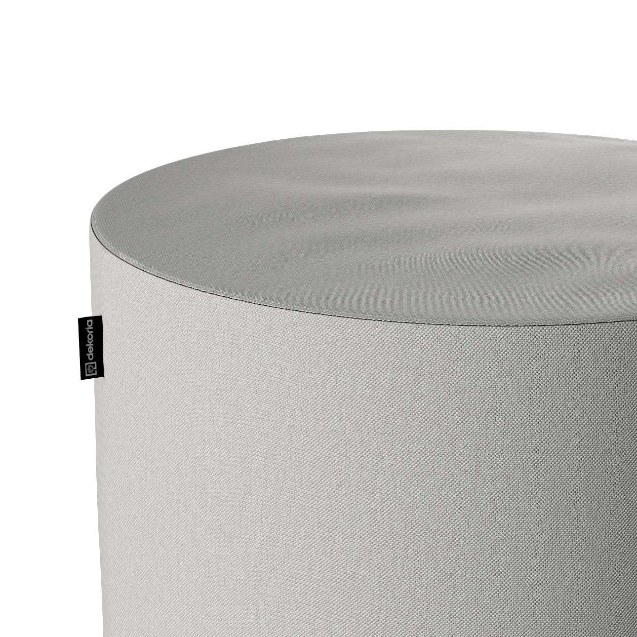 Puf Barrel w kolekcji Etna, tkanina: 705-90