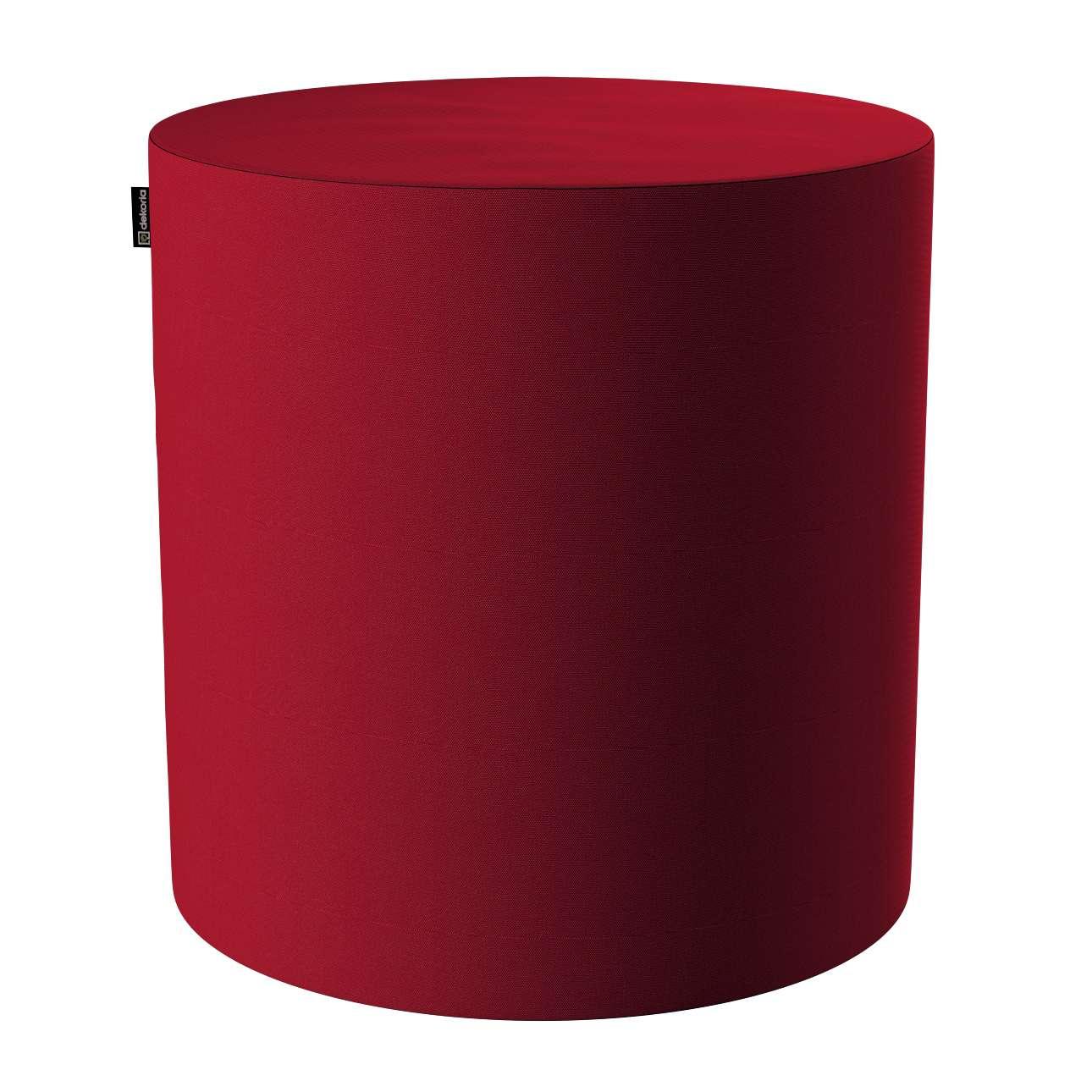 Puf Barrel w kolekcji Etna, tkanina: 705-60