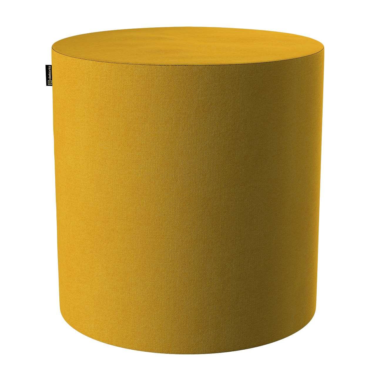 Pouf Barrel von der Kollektion Etna, Stoff: 705-04