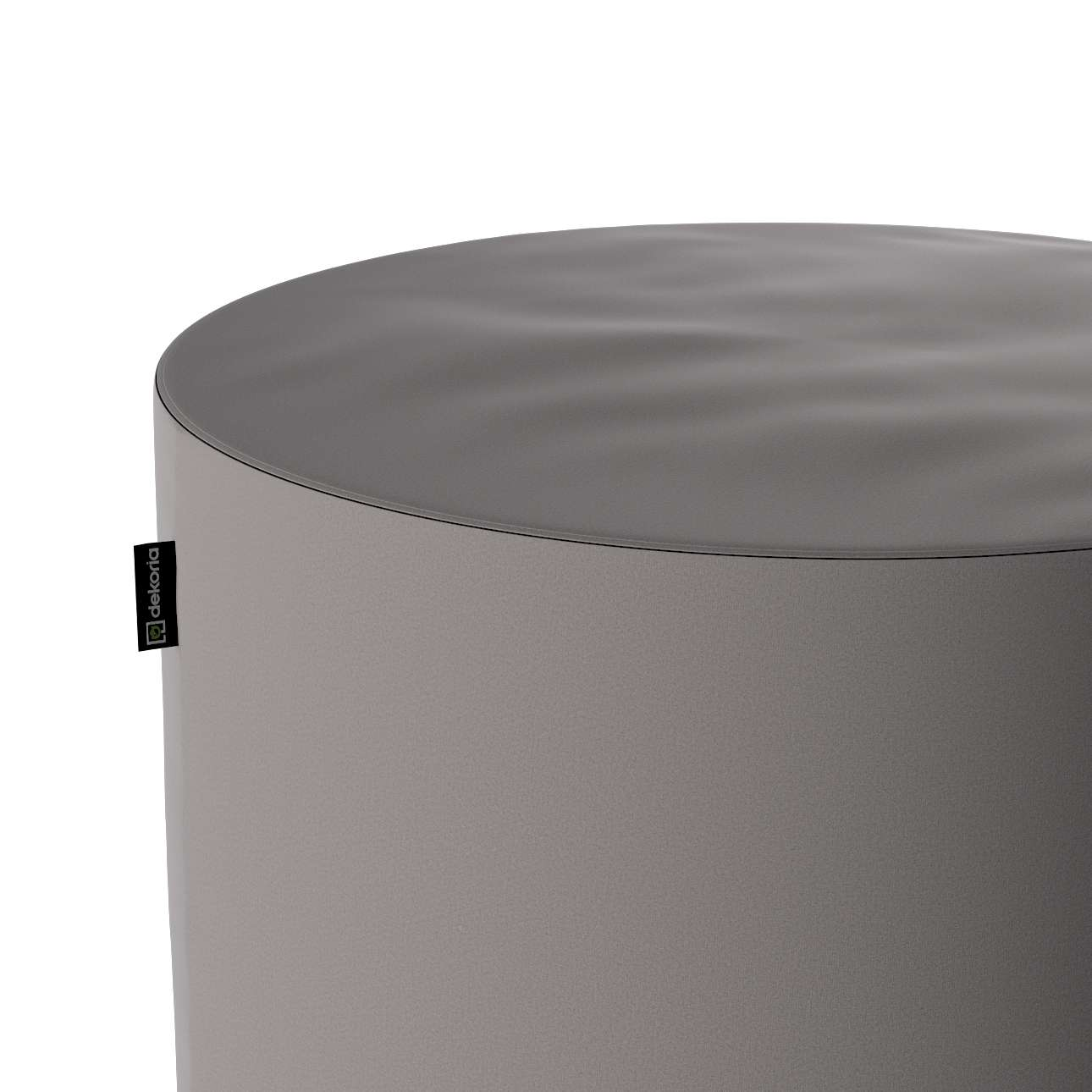 Pouf Barrel von der Kollektion Velvet, Stoff: 704-11