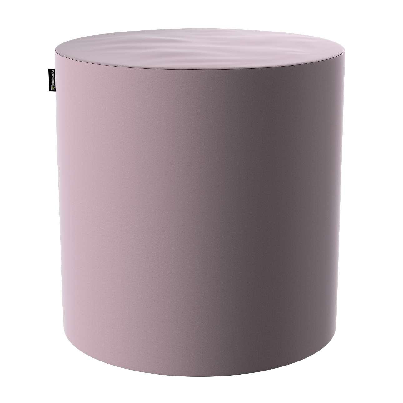 Puf Barrel w kolekcji Velvet, tkanina: 704-14